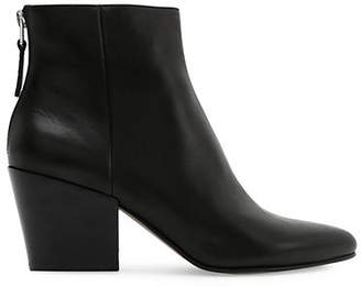 Dolce Vita Smooth Leather Ankle Boots