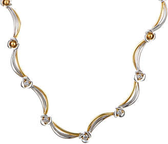 Damiani 18K Tri-Color 0.53 Ct. Tw. Diamond Necklace