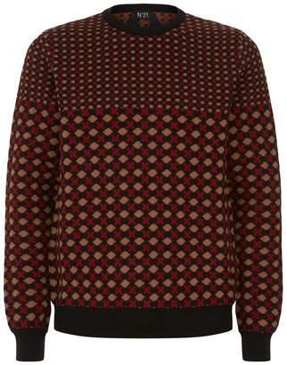 N°21 Retro Jacquard Sweater