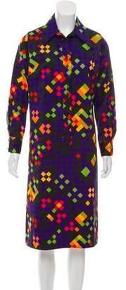 Lanvin Printed Vintage Dress