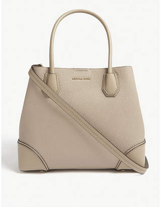MICHAEL Michael Kors Mercer Gallery pebbled leather satchel