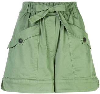 Sea wide leg shorts