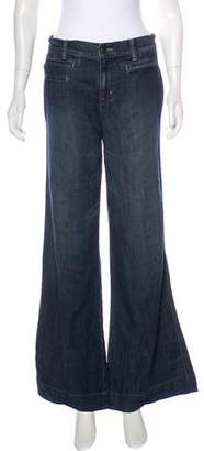 Level 99 Mid-Rise Wide-Leg Jeans