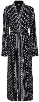Dodo Bar Or Embroidered velvet coat