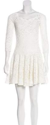 Plein Sud Jeans Lace Flounce Dress w/ Tags