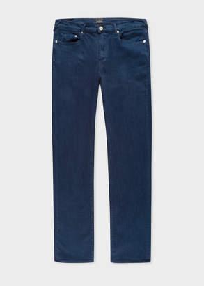 Paul Smith Men's Slim-Fit Navy Garment-Dye 'Reflex Super Stretch' Jeans
