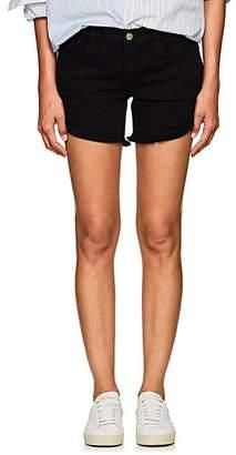 Frame Women's Le Cut Off Denim Shorts - Black