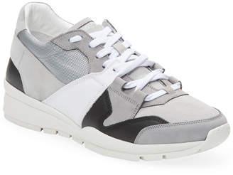 DSQUARED2 Vitello Nabuk Tessuto Tecnico Sneaker