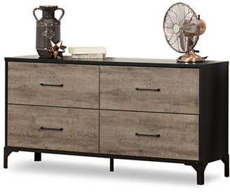 SOUTH SHORE Valet Four-Drawer Double Dresser