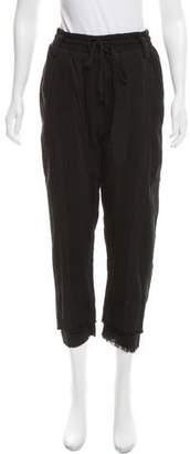 Haider Ackermann Paneled High-Rise Sweatpants w/ Tags