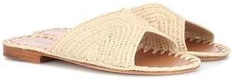 Carrie Forbes Salon raffia sandals