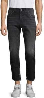 True Religion Finn Frayed Skinny Fit Jeans