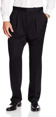 Perry Ellis Men's Big-Tall Portfolio Double Pleated Micro Melange Pant