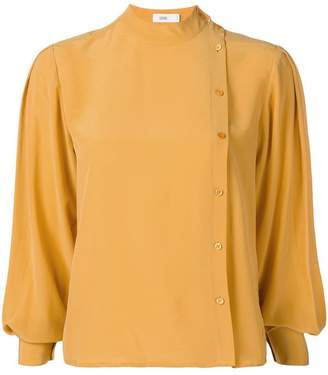 Closed high neck blouse
