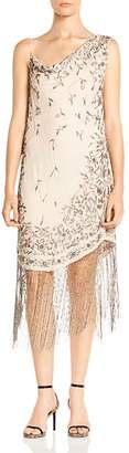 Haute Hippie Mojave Desert Embellished Silk Dress