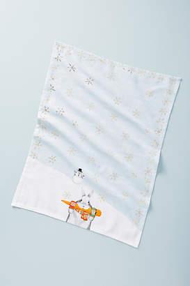 Dear Hancock Bandit Bunny Dish Towel