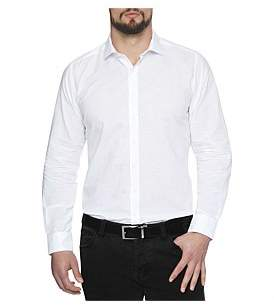 Geoffrey Beene Long Beach Linen Slim Fit Shirt