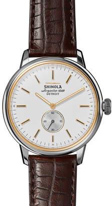 Shinola Men's 42mm Bedrock Chronograph Watch