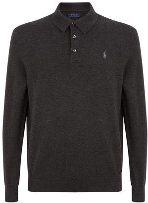 Polo Ralph Lauren Cashmere Buttoned Sweater