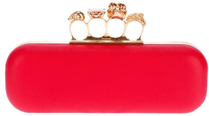 Alexander McQueen 'Knucklebox' clutch