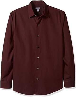 Van Heusen Men's Long Sleeve Stripe Sateen Shirt
