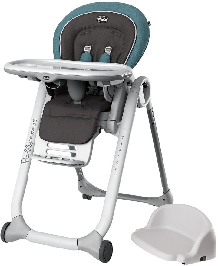 Chicco Chicco Polly Progress relax Highchair - Calypso - Gray