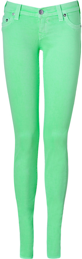 Neon Skinny Jeans (Celebrity Pictures) | POPSUGAR Fashion