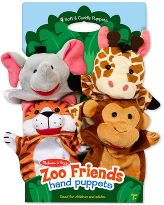 Melissa & Doug Kids' Zoo Friends Hand Puppets Set