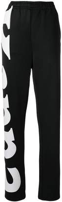 Kappa logo track trousers