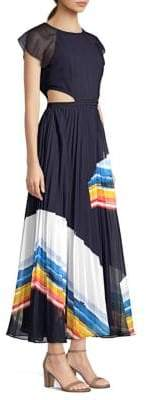 Joie Keitha Accordion Pleat Maxi Dress