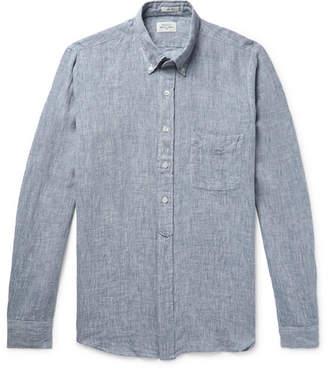 Hartford Sander Slim-Fit Linen Shirt