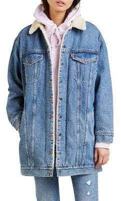 Levi's Love Shack Sherpa Trucker Jacket