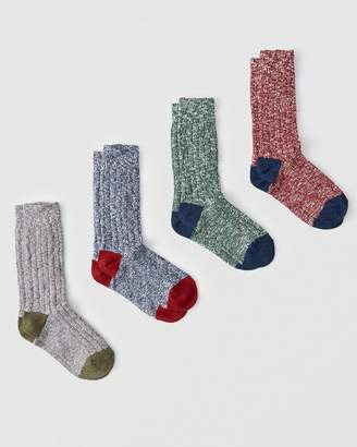 Abercrombie & Fitch 4-Pack Camp Socks Gift Set