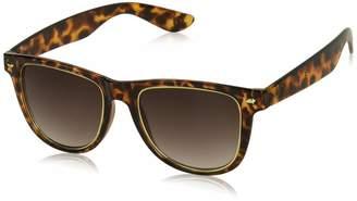 Neff Unisex-Adult's Daily Inlay Wayfarer Sunglasses UVA UVB Protective