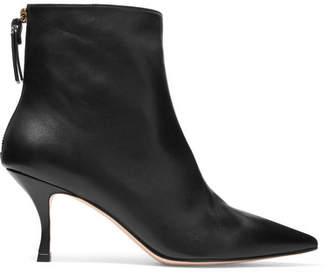 Stuart Weitzman Juniper Leather Boots - Black
