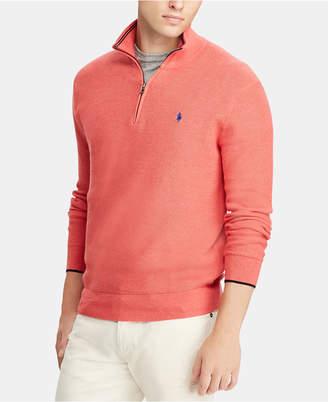 Polo Ralph Lauren Men Big & Tall Half-Zip Sweater
