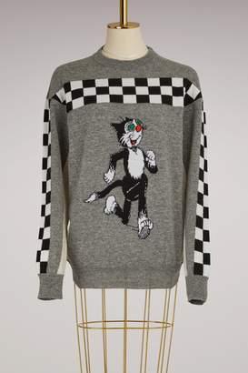 Stella McCartney Beano Intarsia Wool Sweater