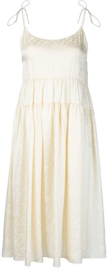 Saint LaurentSaint Laurent spaghetti strap dress