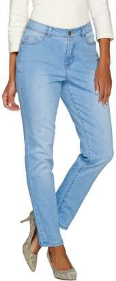 Isaac Mizrahi Live! TRUE DENIM Tall 5-Pocket Ankle Jeans