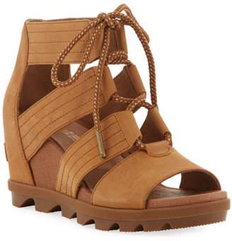 20887f446 Sorel Leather Footbed Women's Sandals - ShopStyle