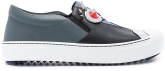 Fendi Faces slip-on sneakers $800 thestylecure.com