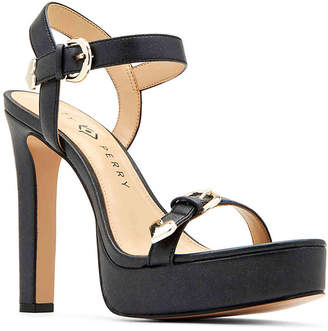 c9938eb68bb Katy Perry Black Heeled Women s Sandals - ShopStyle