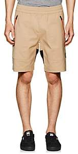 Aztech Mountain AZTECH MOUNTAIN MEN'S TECH-FABRIC SHORTS-BEIGE, TAN SIZE XS