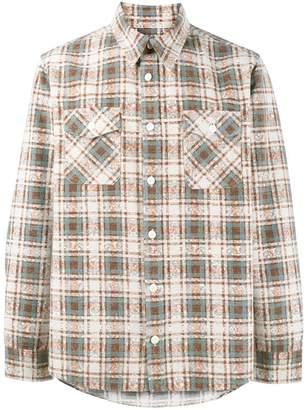 Visvim Elk brushed check shirt