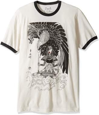 Blend of America Jack Of All Trades Men's Zane Fix Reincarnation Ti Ringer T-Shirt