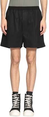 Rick Owens Boxer Cotton Shorts