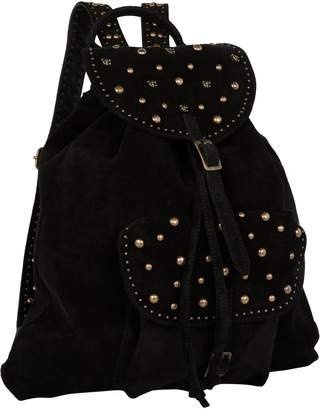 Scotch & Soda Studded Suede Backpack