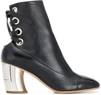 Proenza Schouler lace back ankle boots