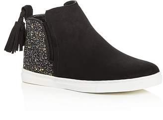 Dolce Vita Girls' Zada Glitter High Top Sneakers - Little Kid, Big Kid