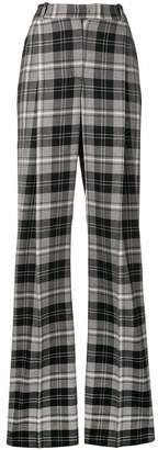 Ermanno Scervino checked wide leg trousers